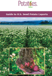 Guia para las variedades de semilla de papa de Estados Unidos para exportacion